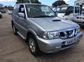 2006 Nissan Terrano SE van, 2.7TD, 1 owner from new, only 58k with full history!!!