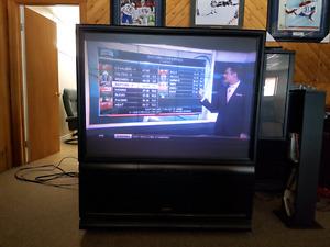 """50"""" Pioneer rear projection flat screen TV"""