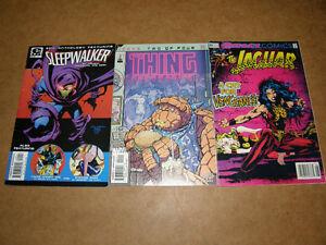 3 Revue Comique Sleepwalker The Thing The Jaguar - 3/8$