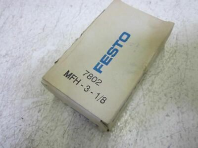 Festo Mfh-3-18 Solenoid Valve New In Box