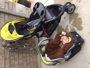 Stroller, base and car seat combo Sarnia Sarnia Area image 2
