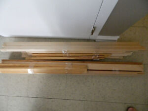 Large Lot of Canvas Stretchers Various Sizes