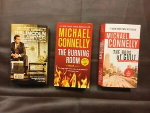 Michael Connelly Paperback Novels