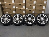 "19"" S-Line Twin Spoke style on 245x35 Tyres"