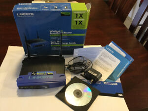 Router Linksys, Vista compatible