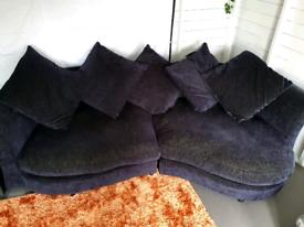 Large sofa and cuddle sofa