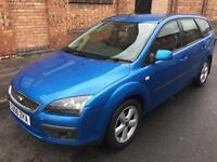 FORD FOCUS 1.8 ZETEC CLIMATE ESTATE [2006]CLEARANCE PRICE £950..FSH..DRIVES GOOD