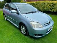 2006 Blue Corolla 1-4 Colour Collection 5 Dr Hatch 95K FSH Clean Cheap Reliable