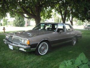 1984 Pontiac Parisienne  Brougham Car