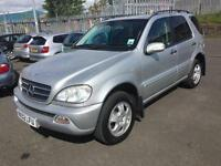 2002 Mercedes-Benz M Class 3.2 ML320 SUV 5dr Petrol Automatic (324 g/km,