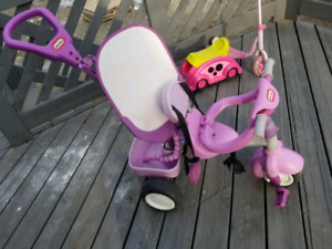 tricycle little tikes 30$