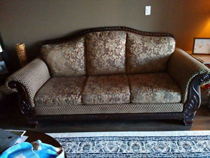 CANADIAN Made Solid Wood Couch/Love Seat