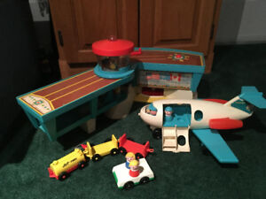 Vintage Fisher Price airport