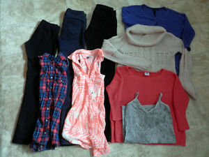 Lot of youth/women's clothing