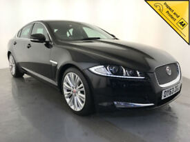 2013 63 JAGUAR XF PORTFOLIO DIESEL AUTOMATIC SERVICE HISTORY FINANCE PX WELCOME