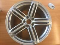 AUDI S LINE 19'' SPLIT SPOKE ALLOY WHEELS