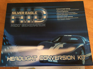 SILVERLIGHT HID CONVERSION KIT (6000K) BRAND NEW IN BOX