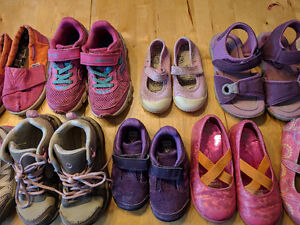 Shoes Girl's 6-11 ($12 ea) *North Face, TOMS, etc