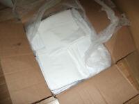 BOX OF 100 WHITE KING SIZE PILLOWCASES