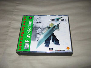 Final-Fantasy-VII-7 / PS1-Greatest-Hits - Mint Condition