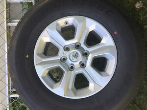 Brand New stock from toyota 4runner 2016 tire and rims