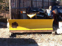 Fisher truck plow blade
