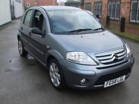 CITROEN C3 1.6i 16v AUTOMATIC EXCLUSIVE 5 DR HATCH 3 MONTH WARRANTY FINANCE