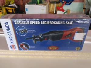 King Reciprocating Saw (new - never opened)
