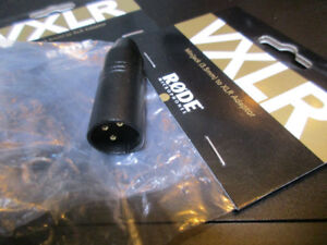 RODE VXLR CONVERTER FROM MINI TO XLR !!! NEW !!!