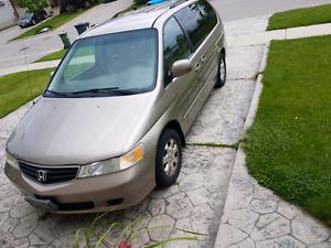 2003 Honda odyssey as is
