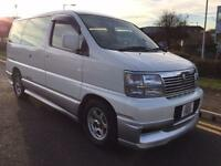 NISSAN ELGRAND HIGH WAY STAR 3.3 PETROL V6 4X4 GENUINE 54,000KM FROM NEW