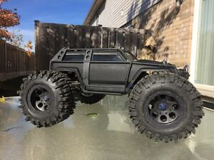 Traxxas summit with 40 series mudslingers
