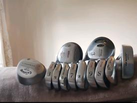 Golf clubs full set callaway bag wilson clubs