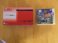 Red Nintendo 3DS XL w/ Game - Excellent Condition - $140