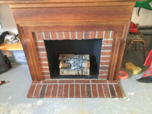 Fireplace for sale.