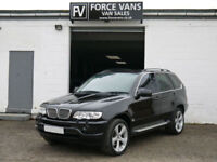 BMW X5 4.4i V8 AUTOMATIC TOP SPEC 5 SEATER 5 DOOR ESTATE MPV 4X4 CAR