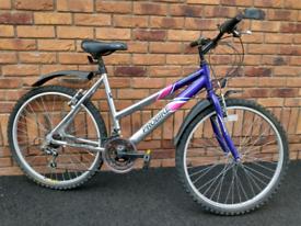 """Girls / ladies bike 26"""" wheels probike aurora bicycle"""