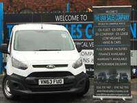 2013 63 FORD TRANSIT CONNECT 1.6 L1 200 P/V 5D (S/S) 74 BHP PANEL VAN DIESEL