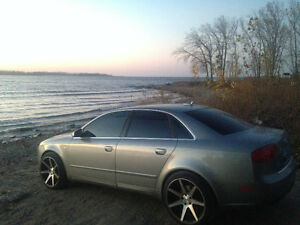 Audi A4 turbo for trade or sell solid car AWD no issues