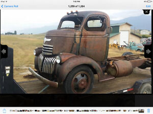 Chevrolet/Chevy Cab over engine wanted