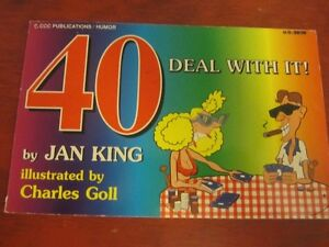 JOKE BOOK :  FOR 40 YEAR-OLD - BY JAN KING