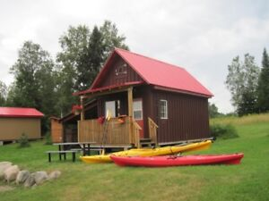 Couple's Getaway: Cottage/Cabin Rentals on York River/Bancroft