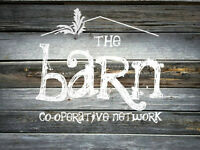 The Barn Co-operative Network Grand Opening July 11th!!