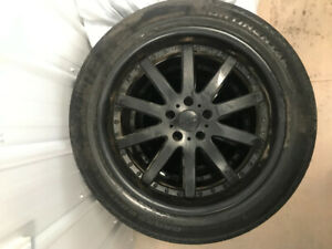 "20"" Petrol wheels on Continental all season tires"