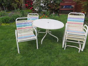 Vintage retro lawn patio furniture