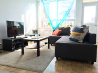 Lease trasfer 2 1/2 big bapartment in Heart of Downtown Montreal