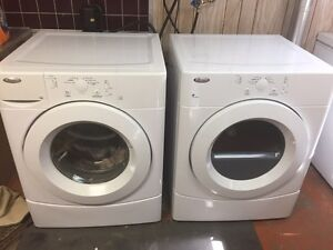 5 years old whirlpool washer and dryer