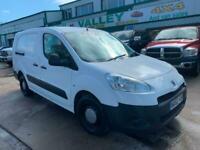 2012 Peugeot Partner 1.6HDi LWB 5 SEATER Crew Van DIRECT MAJOR COMPANY' NO VAT