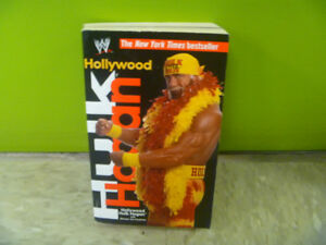 Hollywood Hulk Hogan Book In Paper Back