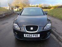SEAT Leon 1.6 TDI CR SE COPA DSG (black) 2012